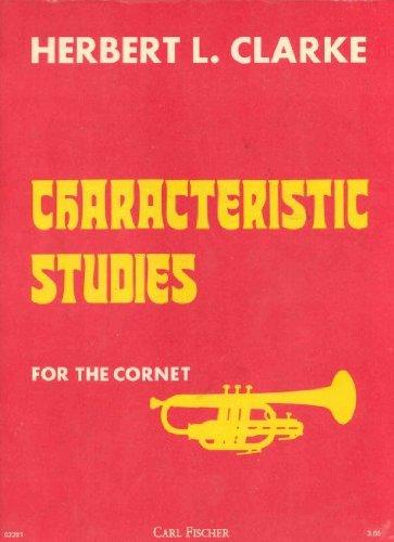 9789990744262: O2281 - Characteristic Studies for the Cornet