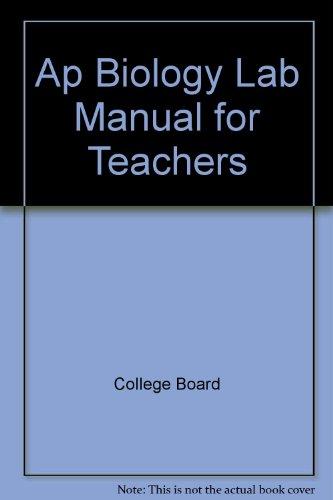 9789990809404: Ap Biology Lab Manual for Teachers