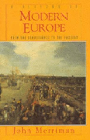 9789990811315: A History of Modern Europe: From the Renaissance to the Present