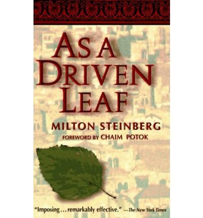 9789990811353: As a Driven Leaf