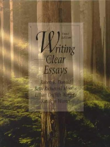 9789990811872: Writing Clear Essays