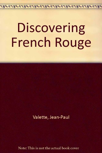 9789990813067: Discovering French Rouge