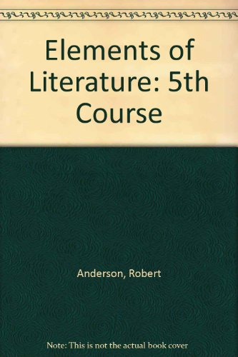 9789990813340: Elements of Literature: 5th Course