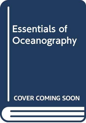 9789990817201: Essentials of Oceanography