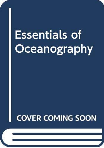 9789990817201: Essentials of Oceanography