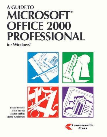 9789990817379: Microsoft Office 2000