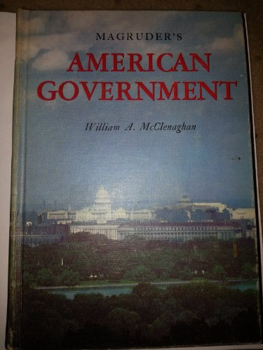 Magruder's American Government: 2000 (9990819157) by William A. McClenaghan