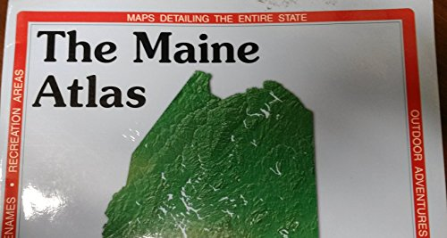 9789990829525: Maine Atlas and Gazetteer