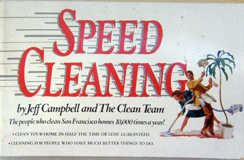 9789990833805: Speed Cleaning