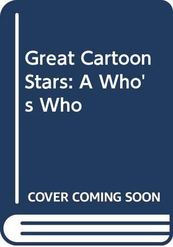 9789990957242: Great Cartoon Stars: A Who's Who