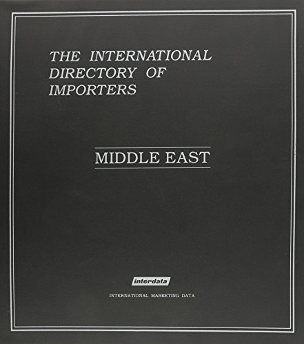 INT DIRECTORY OF IMPORTERS MIDDLE EAST (Paperback)