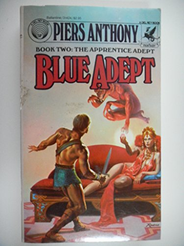 9789991016641: Blue Adept