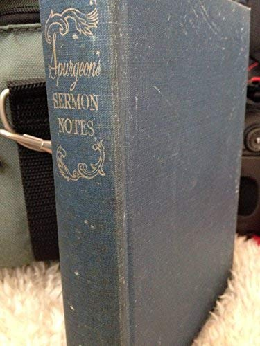 9789991034225: C. H. Spurgeon's Sermon Notes: Genesis to Revelation