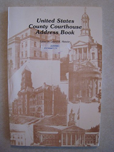 9789991079172: United States County Courthouse Address Book