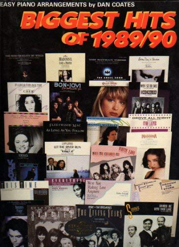 9789991175850: Biggest Hits of 1989-90 (Vf1634)