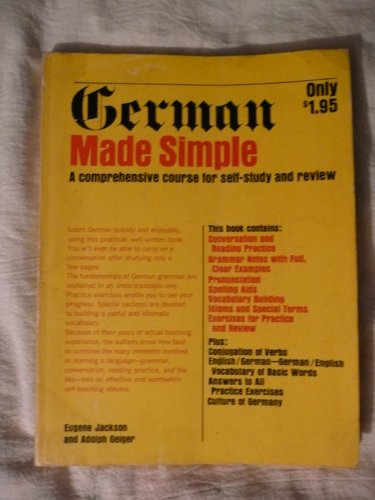9789991226217: German Made Simple