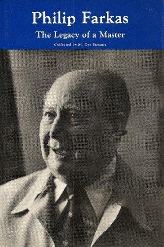 Philip Farkas: Legacy of a Master: M. Dee Stewart,