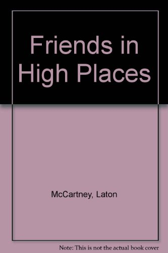9789991423999: Friends in High Places