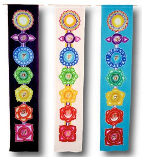 9789991445854: Chakra Banner - Purple