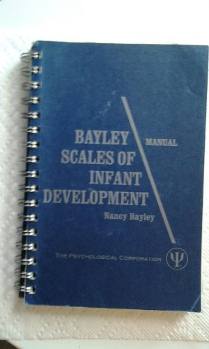 9789991551463: Manual for the Bayley Scales of Infant Development