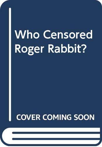 9789991736259: Who Censored Roger Rabbit?