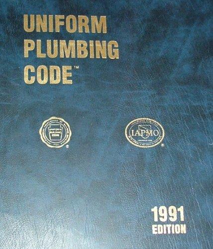 Uniform Plumbing Code 1991