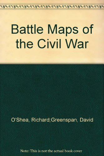 9789992138809: Battle Maps of the Civil War