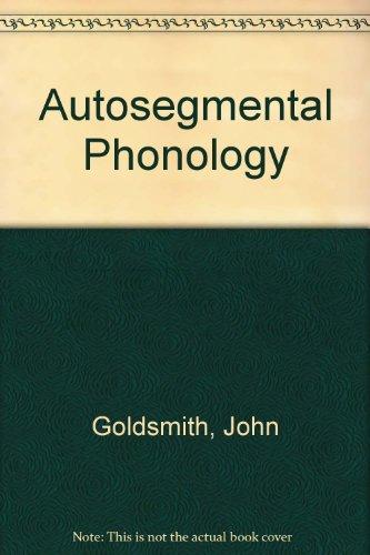 9789992148280: Autosegmental Phonology
