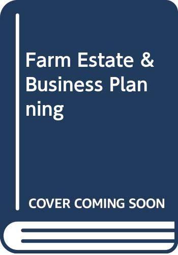 9789992148679: Farm Estate & Business Planning