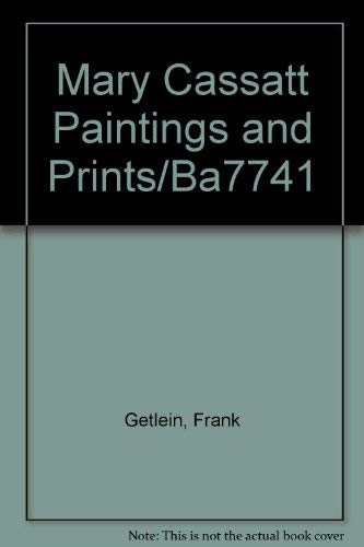 9789992151945: Mary Cassatt Paintings and Prints/Ba7741