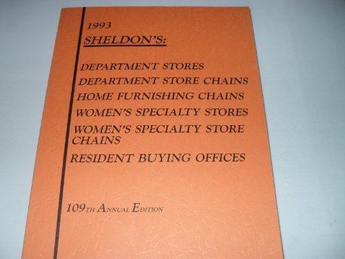 9789992159101: Sheldon's Retail Directory of the United States and Canada and Phelon's Resident Buyers and Merchandise Brokers, 1993