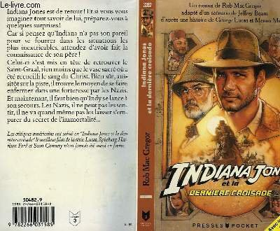 9789992177594: INDIANA JONES AND THE LAST CRUSADE: NOVEL