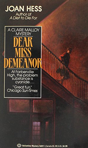 9789992211632: Dear Miss Demeanor
