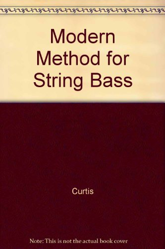 9789992290408: Modern Method for String Bass