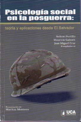 9789992349069: Psicologia social en la posguerra: teoria y aplicaciones desde El Salvador
