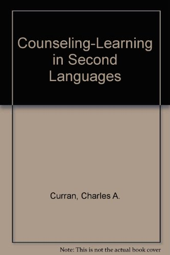 9789992432617: Counseling Learning in a Second Language