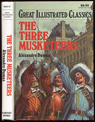 9789992487068: Three Musketeers (Great Illustrated Classics/B224-15)