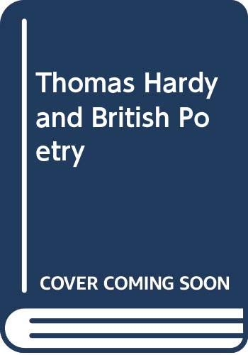 9789992604465: Thomas Hardy and British Poetry