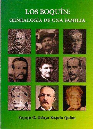 9789992638743: Los Boquin: Genealogia De Una Familia