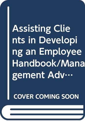 Assisting Clients in Developing an Employee Handbook/Management