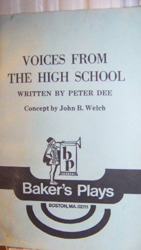 9789992892442: Voices from the High School: A Play