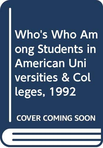Who's Who Among Students in American Universities