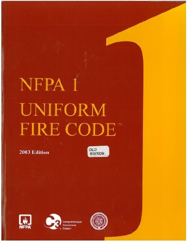 9789992931097: Nfpa 1 : Uniform Fire Code 2003 (Uniform Fire Code)