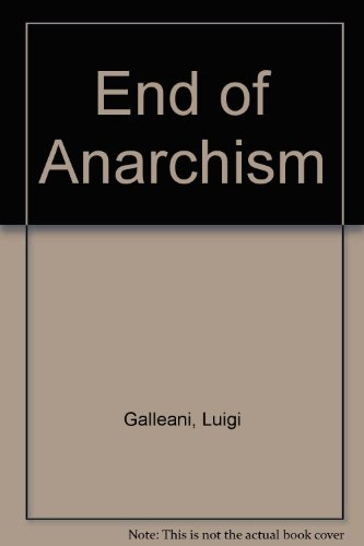 9789993018704: End of Anarchism