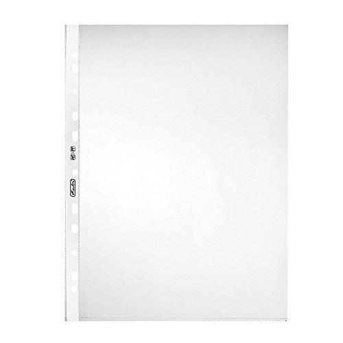 9789993034100: Herlitz 5824008-Fundas A4, transparente, 100unidades, 0,05mm