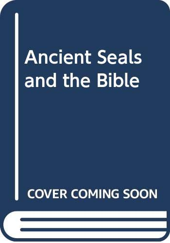 9789993075769: Ancient Seals and the Bible