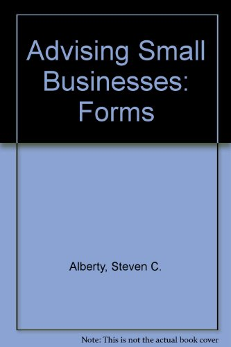 9789993147374: Advising Small Businesses: Forms