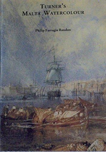 9789993212003: Turner's Malta Watercolour
