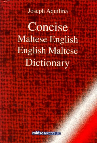 9789993270706: Concise Maltese-English-Maltese Dictionary