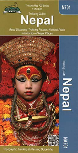 Nepal Trekking Map 1 : 950 000: